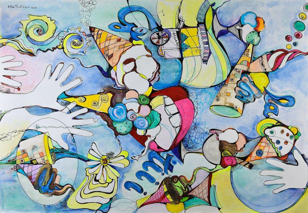 tortorici-alba-acquarello-opera-unica